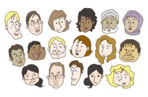 多人種のイメージ