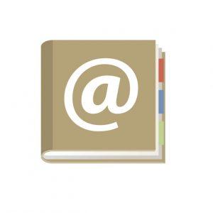住所録のイメージ